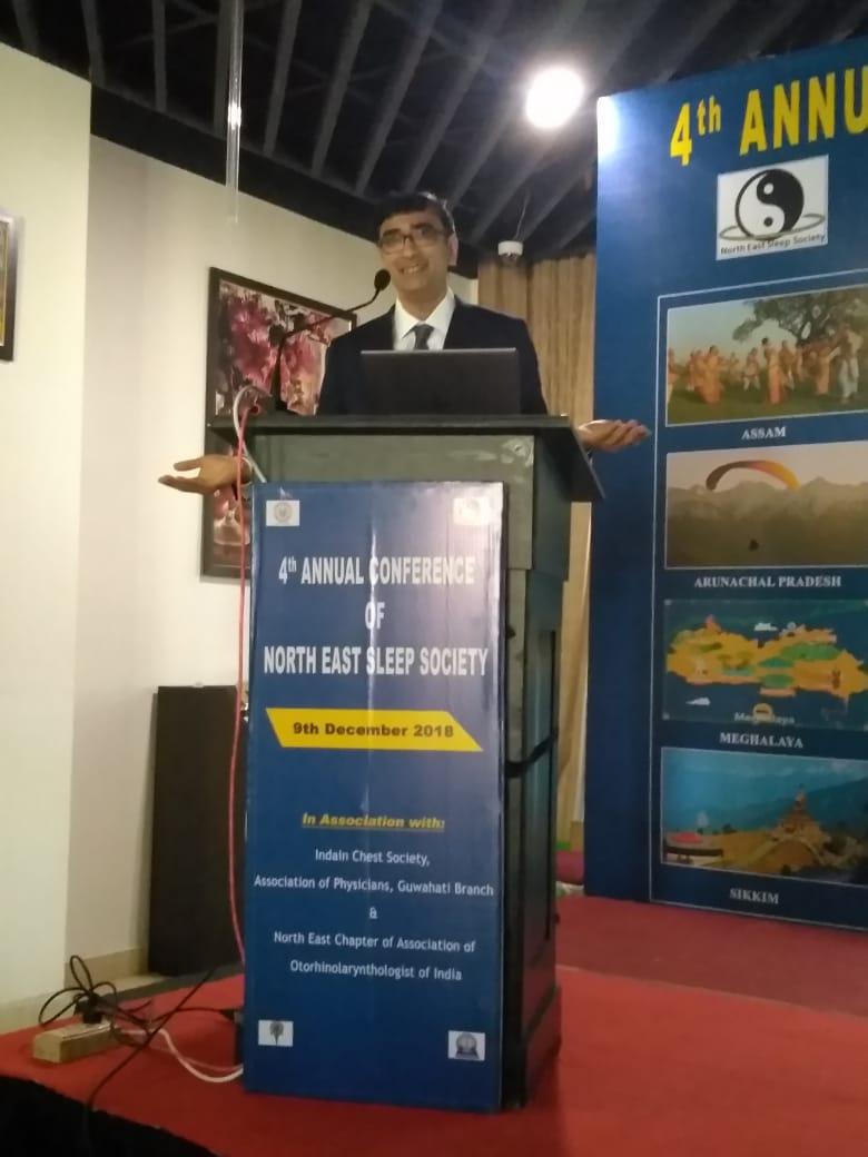 ENT specialist Dr. Srinivas Kishore